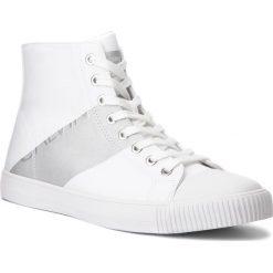 Trampki CALVIN KLEIN JEANS - Antani SE8591 White/Silver. Białe trampki męskie Calvin Klein Jeans, z gumy. Za 569,00 zł.
