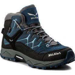 Trekkingi SALEWA - Alp Trainer Mid Gtx GORE-TEX 64006-0365 Dark Denim/Charcoal. Niebieskie buty trekkingowe chłopięce marki CMP, z materiału. W wyprzedaży za 389,00 zł.
