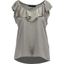 Bluzki asymetryczne: Cortefiel VOLANTE Bluzka beige