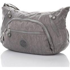 Brązowa lekka damska torebka listonoszka na ramię. Brązowe listonoszki damskie Bag Street, w paski, na ramię. Za 59,90 zł.
