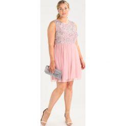 Sukienki hiszpanki: Lace & Beads Curvy CELESTIAL SKATER Sukienka koktajlowa pink