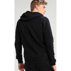 Nike Sportswear CLUB FULL ZIP HOODIE Bluza rozpinana black/black/white. Czarne bluzy męskie rozpinane Nike Sportswear, m, z bawełny. Za 469,00 zł.