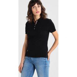 T-shirty damskie: Tommy Jeans ORIGINAL BASIC Koszulka polo  black