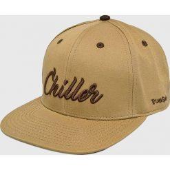 True Spin - Czapka Chiller. Brązowe czapki z daszkiem męskie True Spin. W wyprzedaży za 59,90 zł.