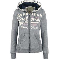 Bluzy damskie: GoodYear Emporia Bluza z kapturem rozpinana damska szary