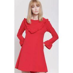Sukienki: Czerwona Sukienka Exciting