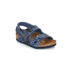 Sandały Dziecko  Birkenstock  MILANO. Niebieskie sandały chłopięce Birkenstock. Za 167,30 zł.