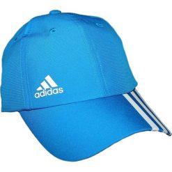 Czapki męskie: Adidas Czapka męska Clmlt 6P 3Soff Cap niebieska r. uniwersalny (AJ9348)