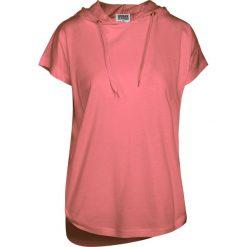 Bluzki z falbaną: Urban Classics Ladies Sleeveless Jersey Hoody Koszulka damska łososiowy