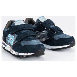 Granatowe buty sportowe  AMERICAN CLUB niebieskie. Niebieskie buciki niemowlęce American CLUB. Za 99,00 zł.