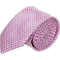 Krawat platinum róż classic 211. Różowe krawaty męskie marki Reserved. Za 49,00 zł.