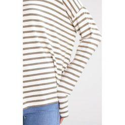 Bluzki asymetryczne: Juvia THIN Bluzka z długim rękawem khaki/ecru