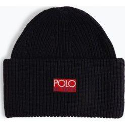 Polo Ralph Lauren - Czapka damska, niebieski. Niebieskie czapki damskie Polo Ralph Lauren, z dzianiny. Za 269,95 zł.