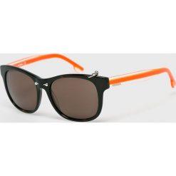 Diesel - Okulary DL0048 52J. Brązowe okulary przeciwsłoneczne męskie wayfarery Diesel, owalne. W wyprzedaży za 399,90 zł.
