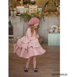 Sukienka Emma. Brązowe sukienki dziewczęce z falbanami Pakamera, z bawełny. Za 359,00 zł.