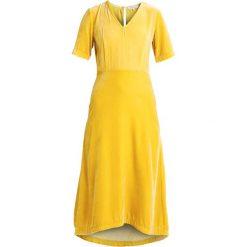 Sukienki hiszpanki: Second Female MUJA  Sukienka letnia lemon curry