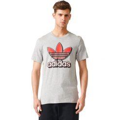 Adidas Koszulka TREFOIL 2 szara r. M (BQ7725). Szare koszulki sportowe męskie Adidas, m. Za 116,59 zł.