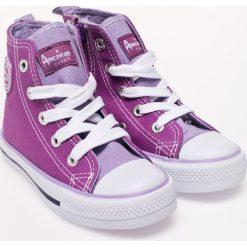 American Club - Trampki dziecięce. Szare buty sportowe dziewczęce American CLUB, z gumy. W wyprzedaży za 33,90 zł.