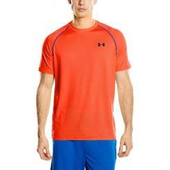 Under Armour Koszulka Sportowa Tech Ss Tee Bolt Orange Nova Teal L. Pomarańczowe koszulki do fitnessu męskie Under Armour, m, z krótkim rękawem. Za 75,00 zł.