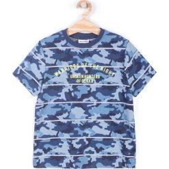 T-shirty męskie z nadrukiem: Coccodrillo – T-shirt dziecięcy 128-158 cm