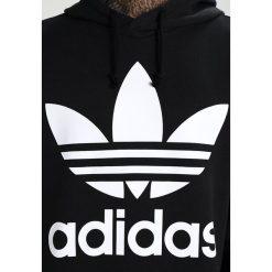 Adidas Originals TREF OVER HOOD Bluza z kapturem black. Szare bluzy męskie rozpinane marki adidas Originals, l, z nadrukiem, z bawełny, z kapturem. Za 349,00 zł.
