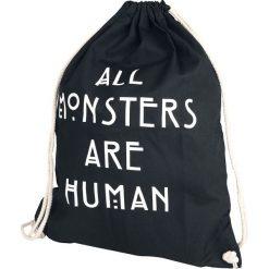 American Horror Story All Monsters Are Human Torba treningowa czarny. Czarne torebki klasyczne damskie American Horror Story. Za 54,90 zł.