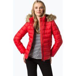 Bomberki damskie: Tommy Jeans - Damska kurtka puchowa, czerwony