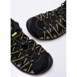 Keen - Sandały. Czarne sandały męskie marki Keen, z materiału, z okrągłym noskiem. W wyprzedaży za 219,90 zł.