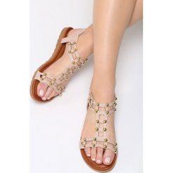 Różowe Sandały Cuba Libre. Czerwone sandały damskie marki vices, na płaskiej podeszwie. Za 74,99 zł.