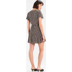 Sukienki hiszpanki: Abercrombie & Fitch WRAP DRESS  Sukienka letnia black