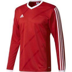 Adidas Koszulka piłkarska męska Tabela 14 Long Sleeve Jersey czerwono-biała r. M (F50430). Białe koszulki sportowe męskie Adidas, m, z jersey. Za 68,19 zł.