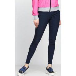 Spodnie damskie: Granatowe Spodnie Warlike