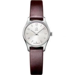 ZEGAREK CALVIN KLEIN CLASSIC LADY K4D231G6. Szare zegarki damskie marki Calvin Klein, szklane. Za 679,00 zł.