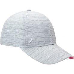 Czapka damska CAD600 - chłodny jasny szary - Outhorn. Szare czapki z daszkiem damskie Outhorn, na lato, z materiału. Za 29,99 zł.