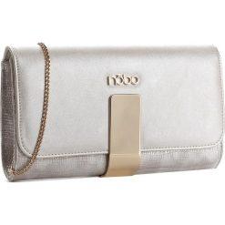 Torebka NOBO - NBAG-C4483-CM22 Srebrny. Szare torebki klasyczne damskie Nobo, z materiału. W wyprzedaży za 119,00 zł.