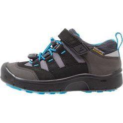 Keen HIKEPORT Obuwie hikingowe black/blue jewel. Czarne buty sportowe chłopięce marki Keen, z materiału, outdoorowe. Za 299,00 zł.