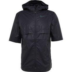 Nike Performance SHIELD JACKET  Kurtka do biegania gridiron/reflective black. Czarne kurtki do biegania męskie marki Nike Performance, l, z materiału. Za 369,00 zł.