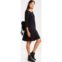 Sukienki hiszpanki: See u Soon SHORT SLEEVE LAYERED  Sukienka letnia black