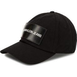 Czapka z daszkiem CALVIN KLEIN JEANS - J K40K400258 008. Czarne czapki z daszkiem damskie marki Calvin Klein Jeans, z bawełny. Za 159,00 zł.