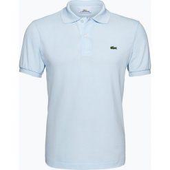 Koszulki polo: Lacoste - Męska koszulka polo, niebieski
