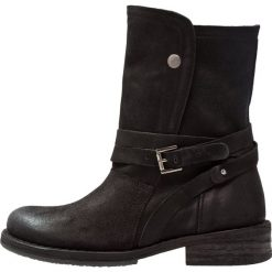 Felmini COOPER Kowbojki i obuwie motocyklowe black. Czarne buty zimowe damskie marki Felmini, z materiału. Za 619,00 zł.