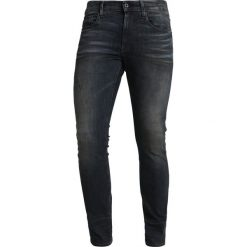 GStar 3301 DECONSTRUCTED SKINNY Jeans Skinny Fit dark aged antic destroy. Niebieskie rurki męskie G-Star, z bawełny. Za 559,00 zł.