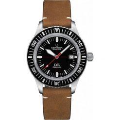 PROMOCJA ZEGAREK CERTINA DS Heritage C036.407.16.050.00. Czarne, analogowe zegarki męskie CERTINA, szklane. W wyprzedaży za 2499,20 zł.