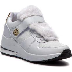 Sneakersy GUESS - FLJIA4 FAL12 WHITE. Białe sneakersy damskie Guess, z materiału. Za 529,00 zł.