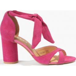 Rzymianki damskie: Sandały różowe Gulietta