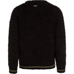 Swetry chłopięce: Bench FLUFFY CREW Sweter black