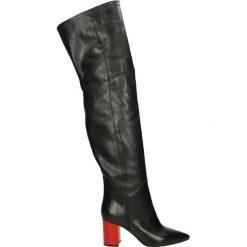 Buty zimowe damskie: Kozaki - WA202 V NE-RO