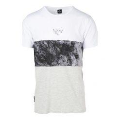 T-shirty męskie: Rip Curl T-Shirt Męski Blocking Surf M, Biały