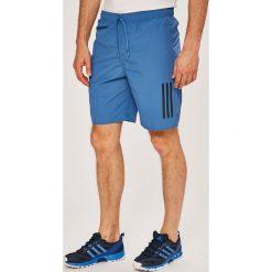Adidas Performance - Szorty. Szare spodenki sportowe męskie adidas Performance, z materiału, sportowe. Za 139,90 zł.
