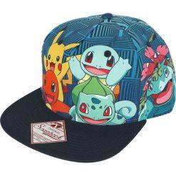 Czapki damskie: Pokemon Charmander and Friends Czapka Snapback wielokolorowy